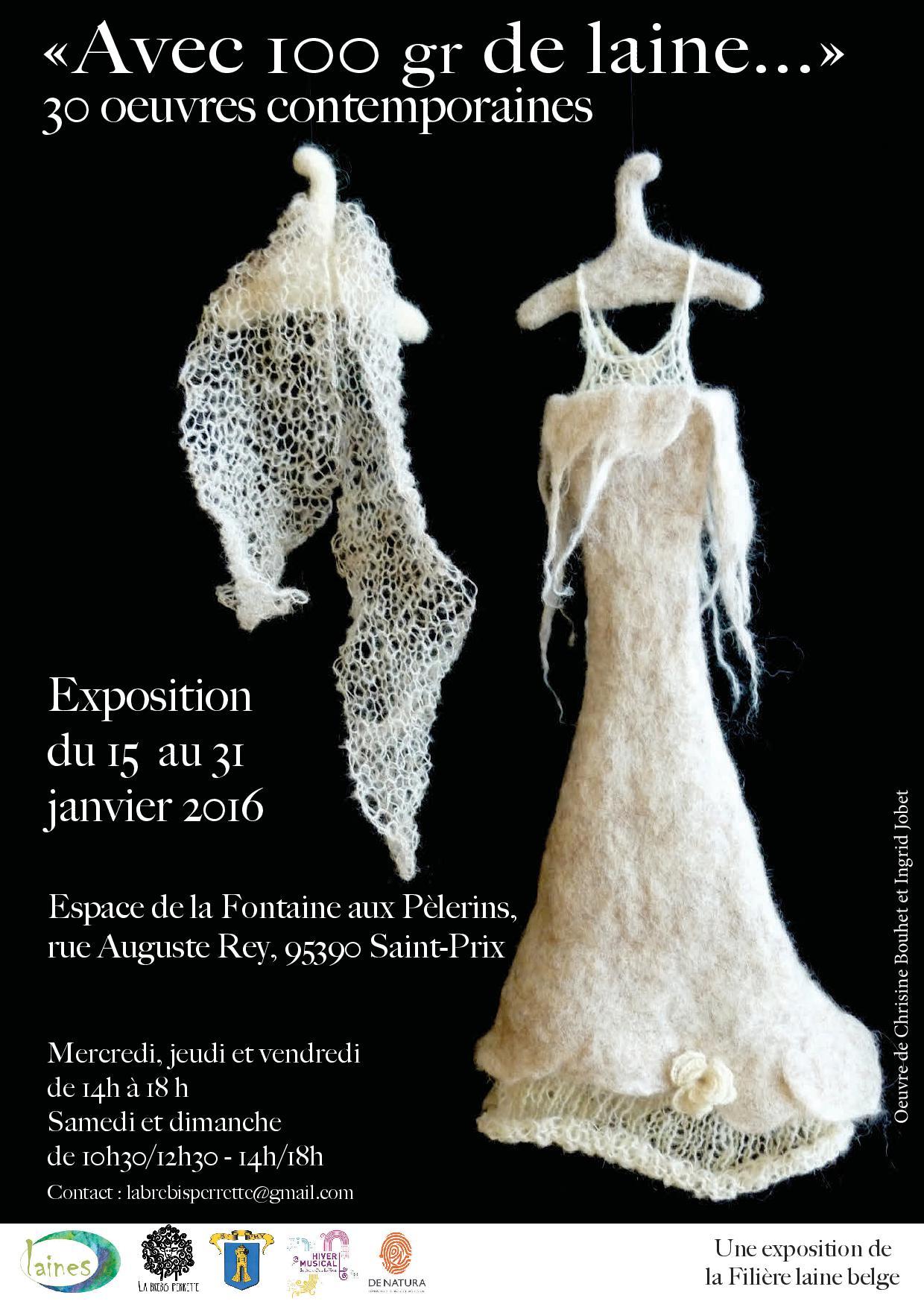 Affiche expo laine